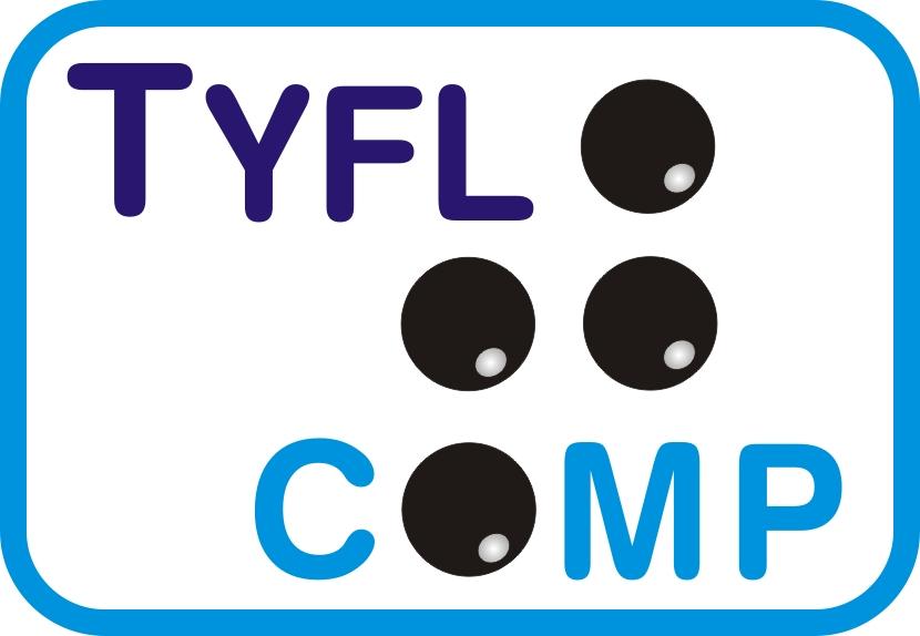 Logo nášho partnera Tyflocomp, s.r.o.