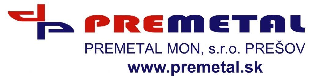 Logo partnera PREMETAL MON,s.r.o.